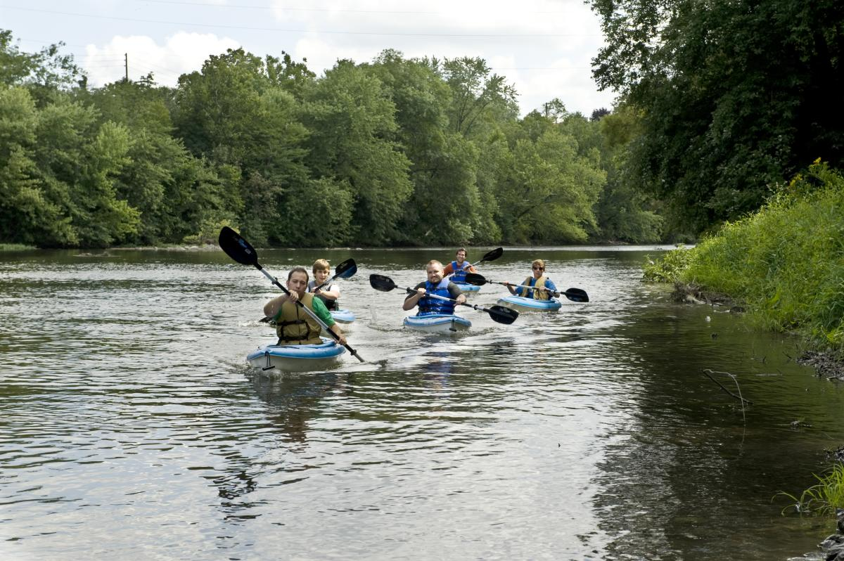 Cumberland valley water activities fishing kayaking for Fishing trips in pa