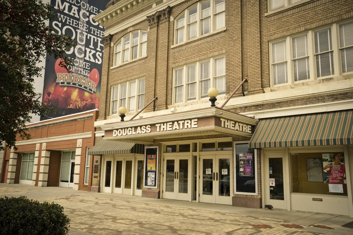 Exterior of Douglass Theatre