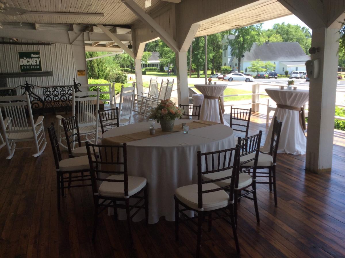 Wedding at Dickey Farms