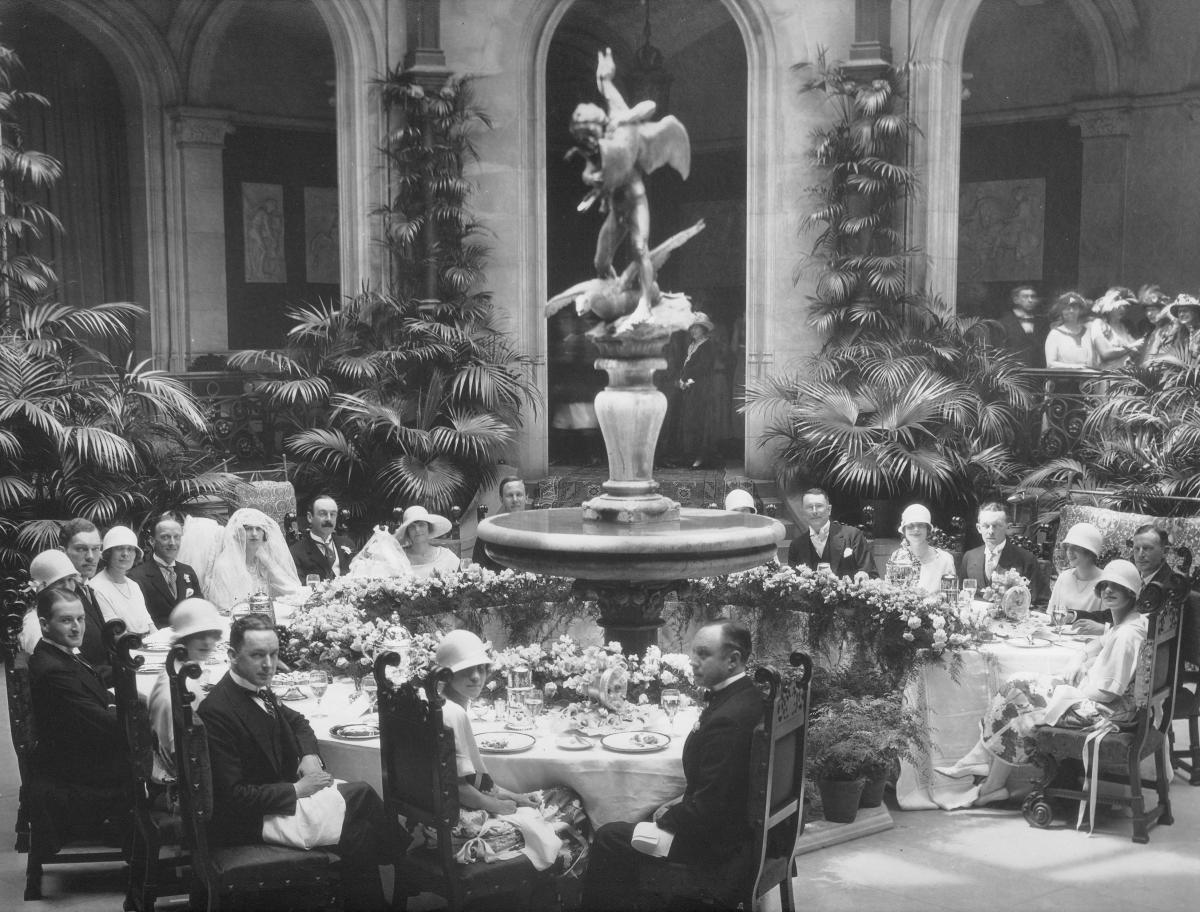 Winter Garden Party - Cornelia Vanderbilt's Wedding