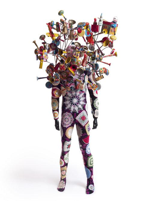 Soundsuit by Nick Cave, courtesy Pizzuti Collection