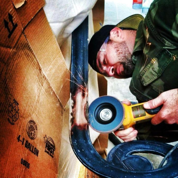 Josh Guillory iron artist