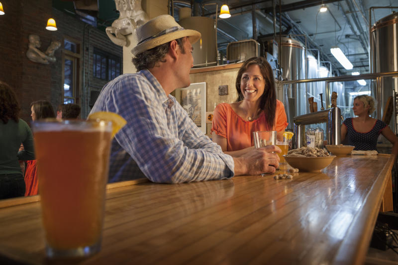 Wedge Brewing Couple