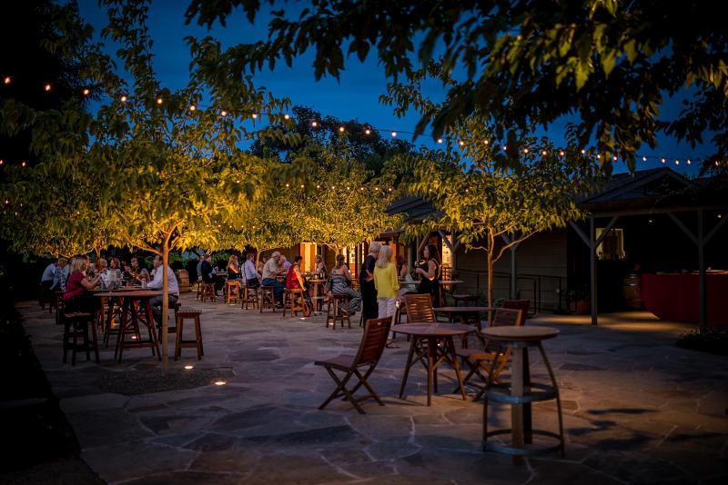 Patio Dining in Napa Valley