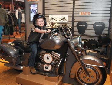 Hands-On Harley-Davidson Exhibit Opening