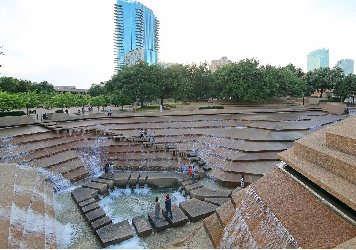 Fort worth water gardens for The water garden