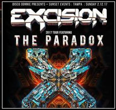 The PARADOX 2017 Tour - Excision, Cookie Monsta, Barely Alive, Dion Timmer