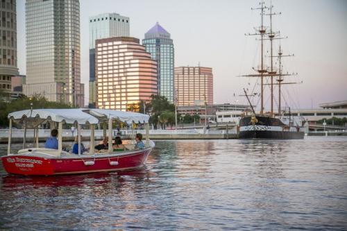 Tampa Bay Design Week, eBoat Architecture Tour