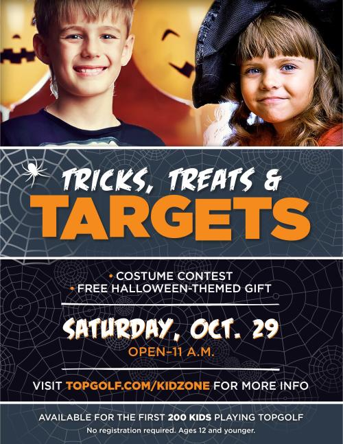 Tricks, Treats, & Targets at Topgolf