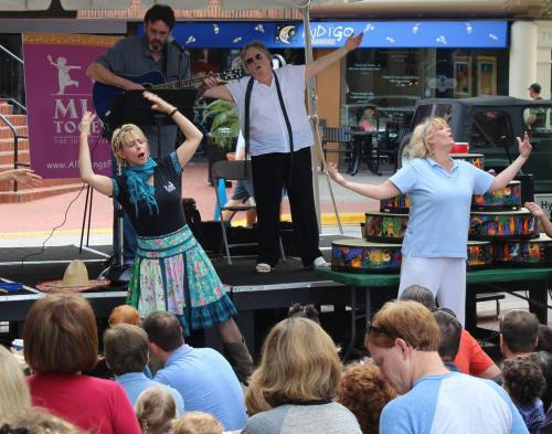 Allisongs For Tots Grand Opening Anniversary Celebration in Hyde Park Village