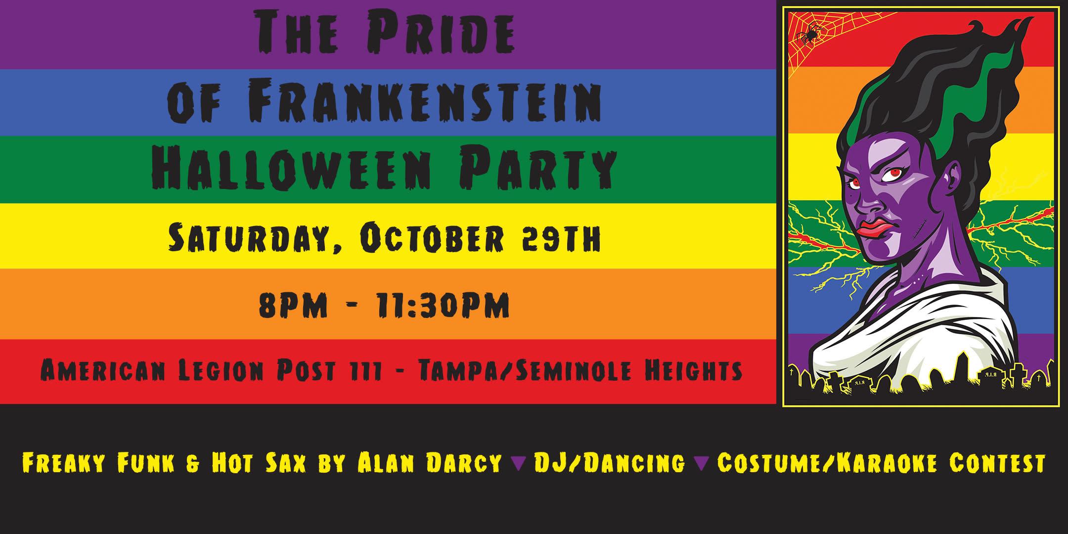 The Pride of Frankenstein Halloween Party