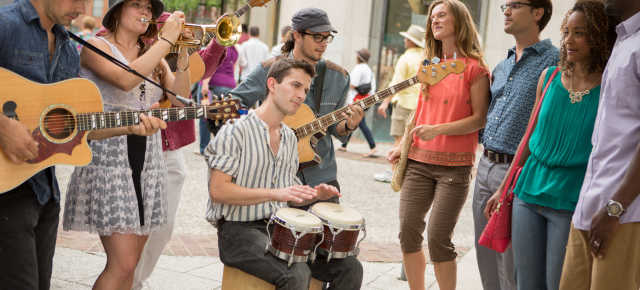 Downtown Buskers (2015 Ad Shoot)