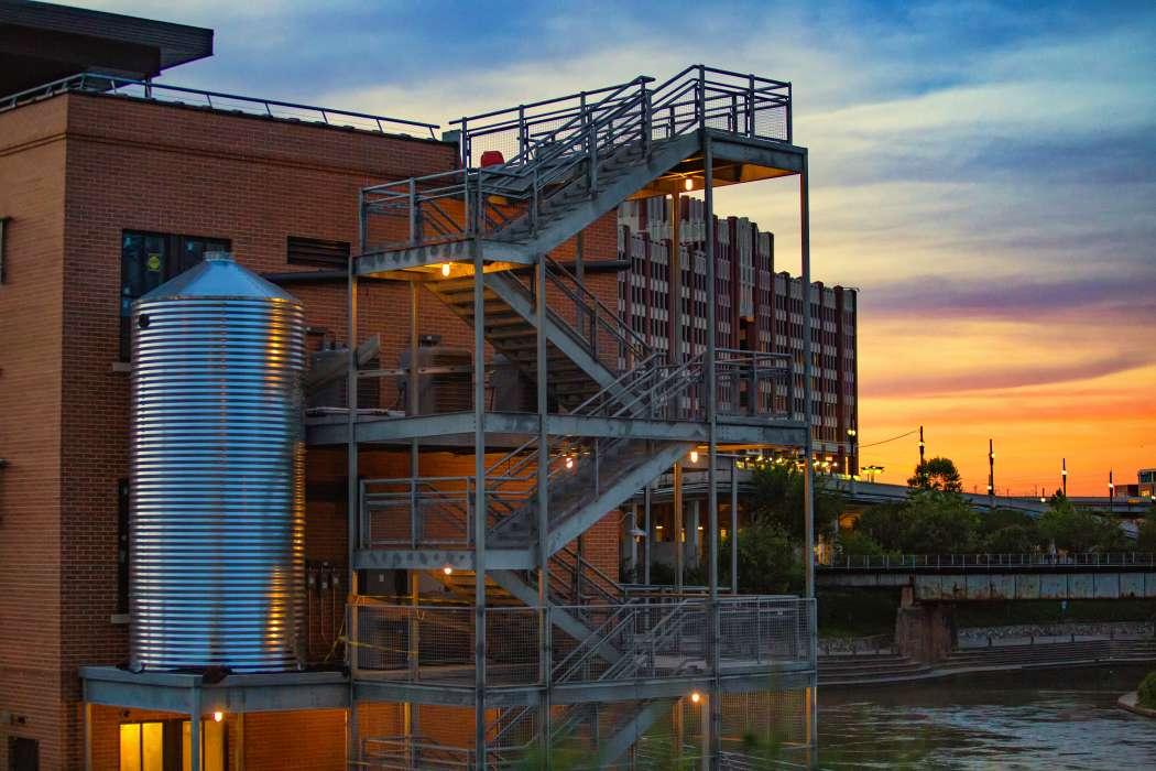 Sunset Coffee Building