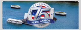 75th Pearl Harbor Commemoration