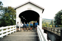 Covered Bridge Bike Tour by Randy Dreiling