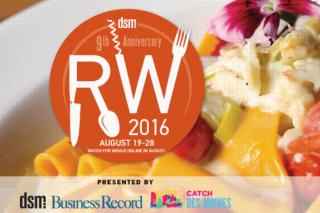 Des Moines Restaurant Week 2016
