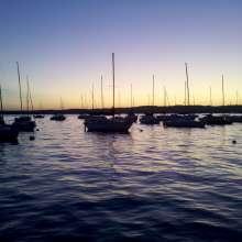Finger Lakes Canandaigua Lake Sailboats Early Sunrise