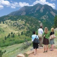 Group at NCAR Weather Trail