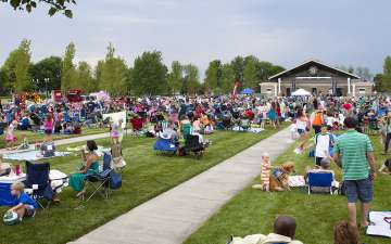 Fishers Nickel Plate District Amphitheater