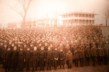 Carlisle Indian School Exbhibit