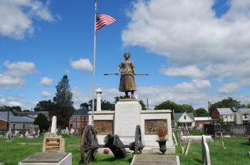Molly Pitcher Statue