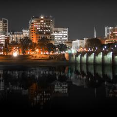 Harrisburg Skyline Night