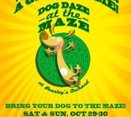 2016 Dog Daze at the Maze at Beasley's Orchard