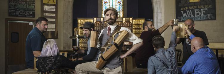 Brewsader - Mustache Guy