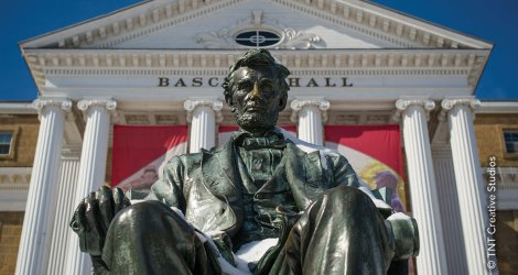 Statue at Bascom Hall