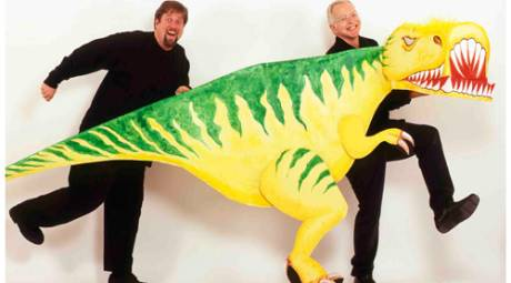 JIM WEST'S DINOSAURS