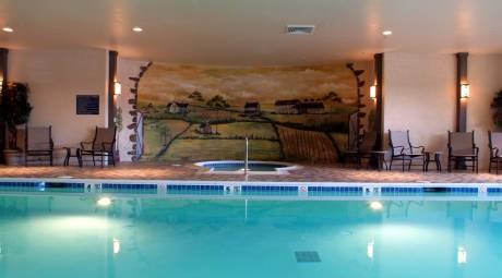 Indoor Pool at Normandy Farm Hotel & Conference Center