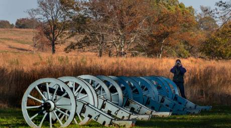Valley Forge Park Artillery