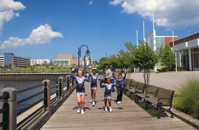 Cheerleaders at WCC