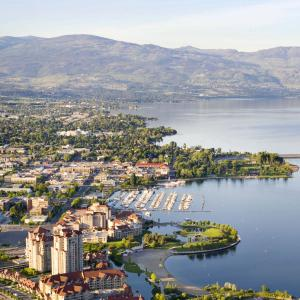 City of Kelowna Aerial