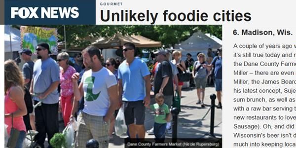 Unlikely Foodie Cities
