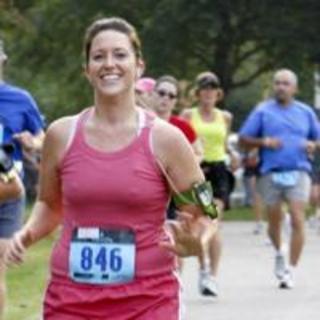 Runner Smiling