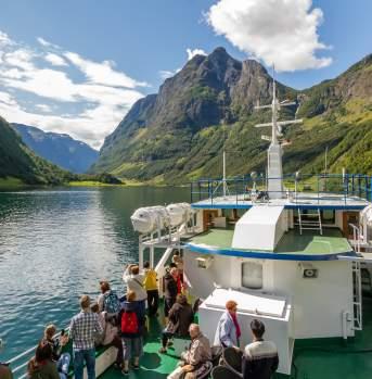 UNESCO World Heritage area Nærøyfjord