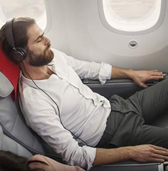 Norwegian premium seat