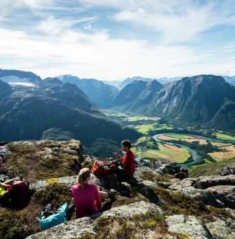 Time for break, Romsdalseggen