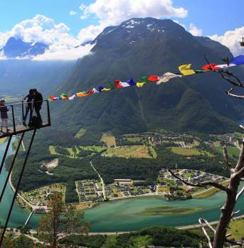 Viewpoint Romsdalstrappa, Andalsnes