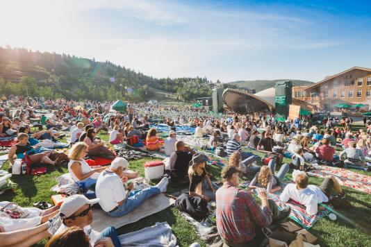 Summer Concert at Deer Valley Resort's Snow Park Amphitheater