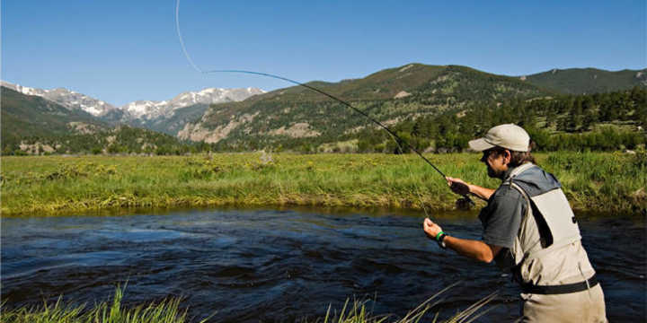 Visitor information rocky mountain national park for Fishing near denver