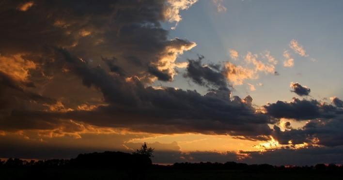 Hendricks County sunset