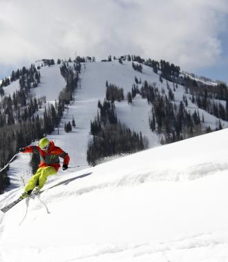Skier at Deer Valley Resort