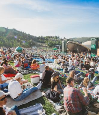Summer Concert at Deer Valley Resort's Snow Park Amphitheater