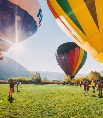 Autumn Aloft Balloons