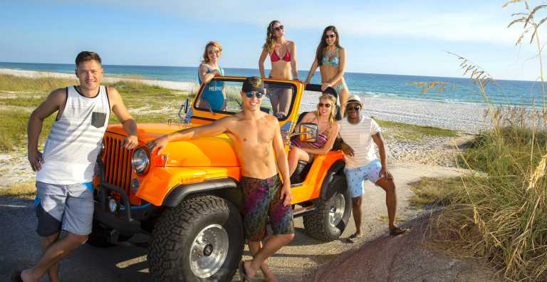 Panama City Beach Travel – Panama City Beach Tourist Map