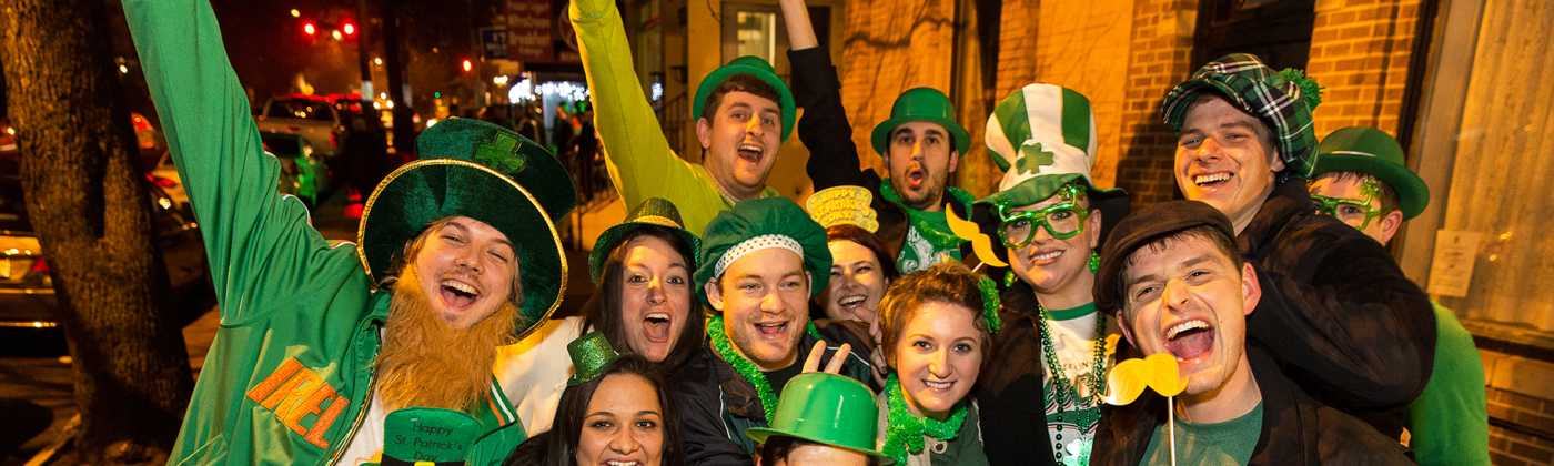 St. Patrick's Day in Trolley Square