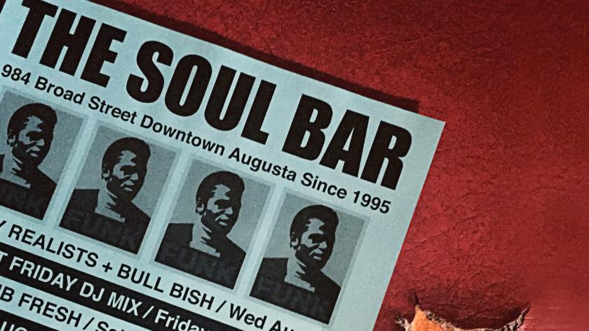 Cropped Soul Bar Menu