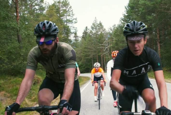 Road biking in Fjord Norway